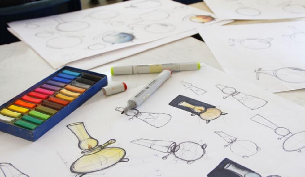 Craies et dessins
