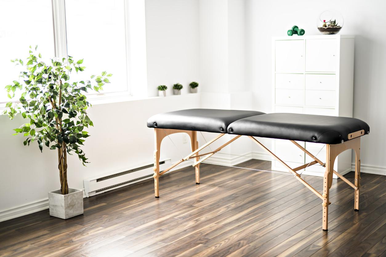 Une cabinet de massage